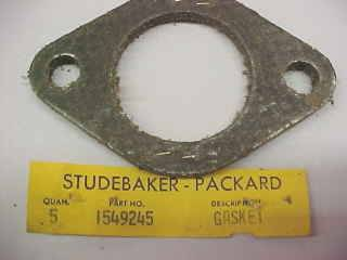 1953-58 PACKARD CARTER WCFB CARBURETOR CHOKE THERMOSTAT SPRING-INSIDE COVER-NEW